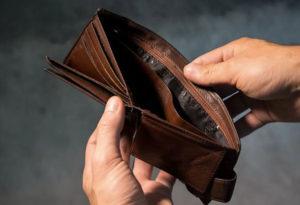 sin dinero para pagar accidente